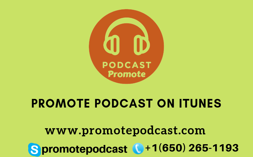 Promote podcast on itunes