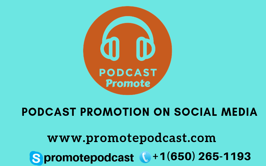 Podcast promotion on social media