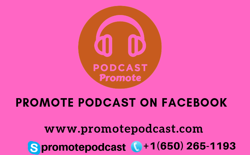 promote podcast on facebook