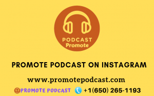 Promote podcast on instagram