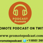 Promote podcast on twitter